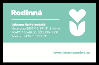 Rodinná karta – Lékárna Na Holandské Znojmo
