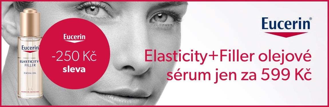 Eucerin Elasticity+Filler olejové sérum se slevou 250 Kč