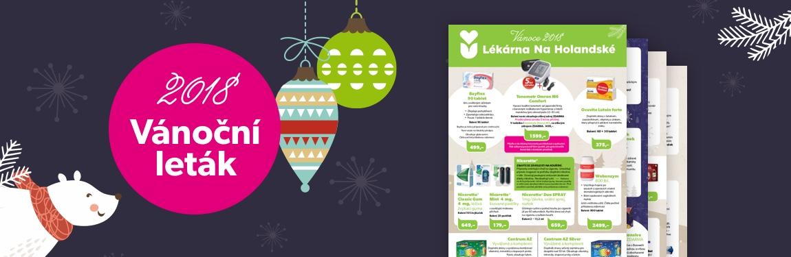 Lékárna Na Holandské – Připravili jsme pro vás speciální Vánoční akce. Užijte si krásné svátky ve zdraví!