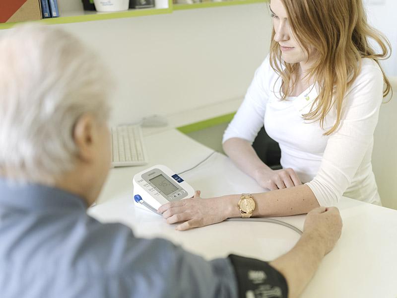 Měření tlaku krve
